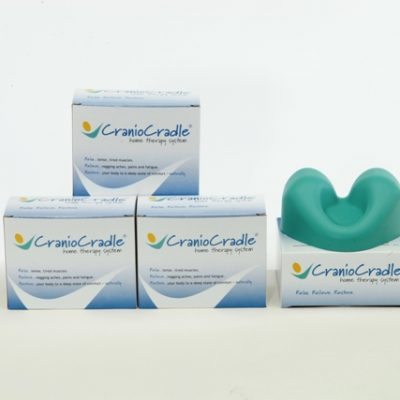 Cranio Cradle 4 Pack with 1 outside of package